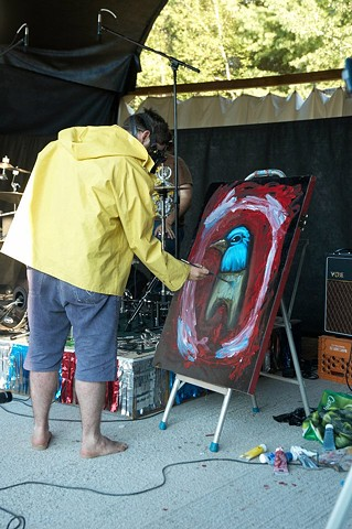 Pascal Leo Cormier, Live Painting, Messtival, TBA Collective, Something Delicious