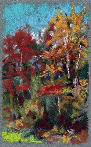"Autumn Change (4 x 2.5"")"