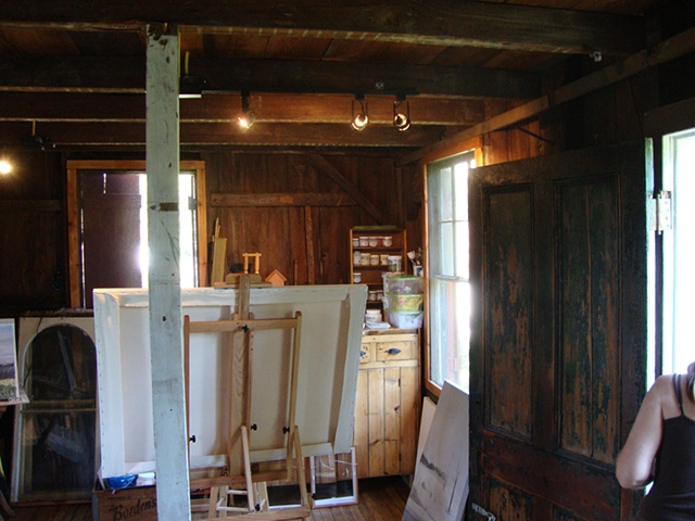 Studio View for Open Studio Tour 2010