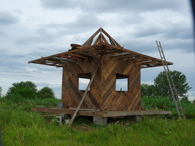 "Ecologies (Nebraska) - ""Writer's Cottage"""