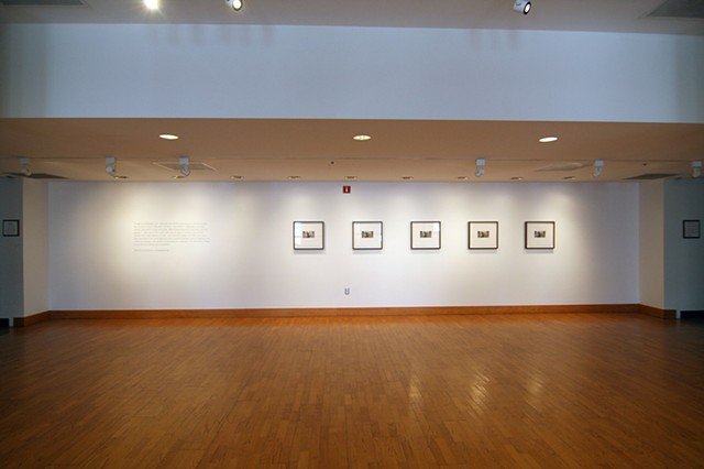 "Installation View, ""The Life of Perished Things"""