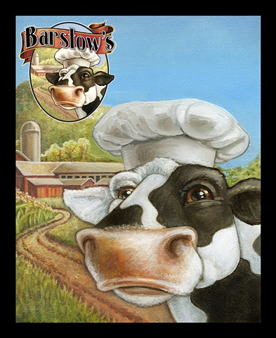 Barstow's Cow (with Logo Inset)