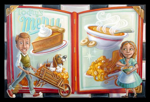 Pumpkin Pie and Pumpkin Soup