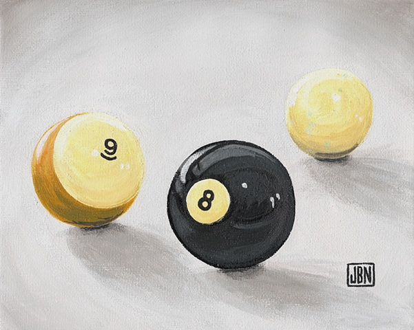 A Game of 9 Ball