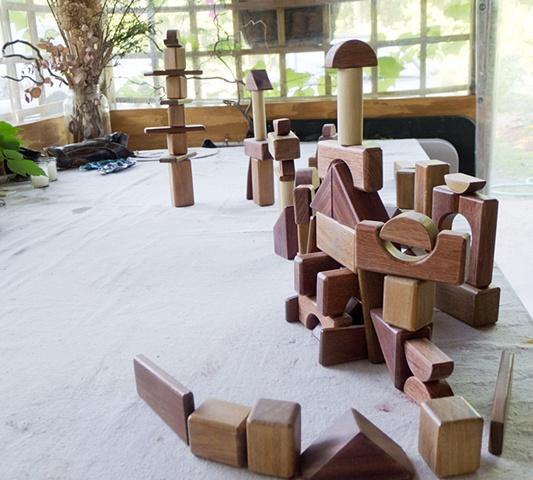 100 piece Custom Block Set