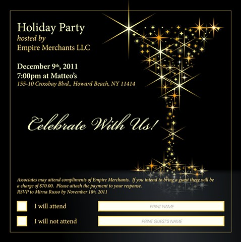Holiday Invitation