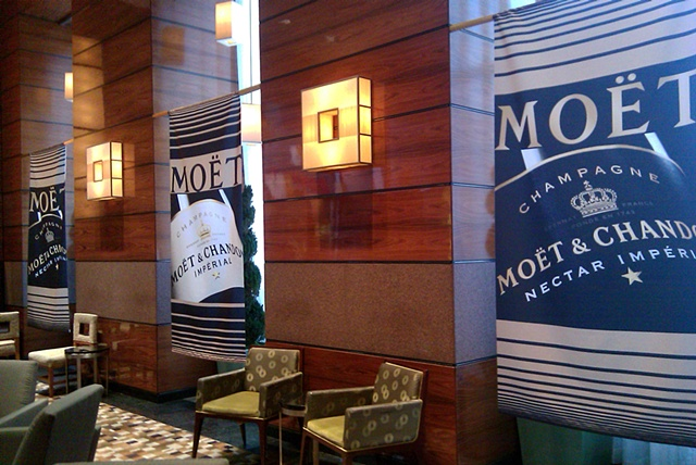 Moet & Chandon Promo at the Millenium Hilton, NYC