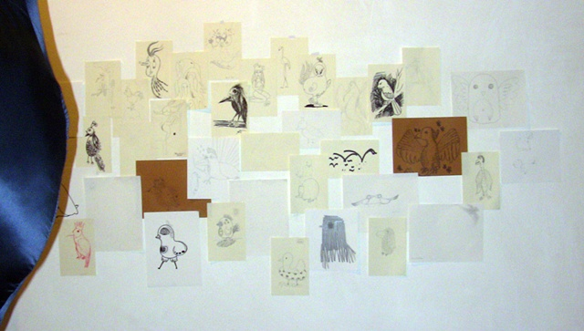 Dreams of Wings - installation view 4