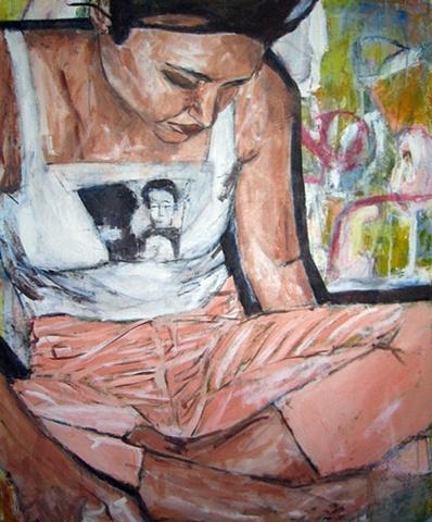 Scarlett with Warhol Shirt