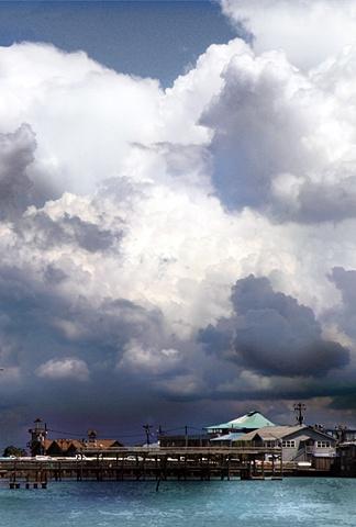 Storm Over Cedar Key