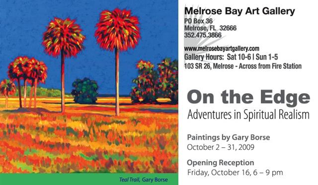 Oct 09: Gary Borse