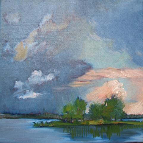 Lake Winnott sunset