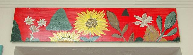 Sunflower Thistles-