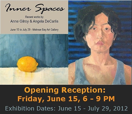 """inner Space"" --Recent Works by Anne Gilroy & Angela DeCarlis"
