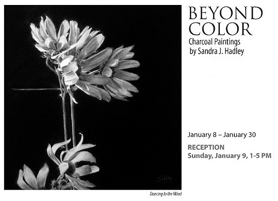 """""""Beyond Color"""", Charcoal Paintings by Sandra J. Hadley"""