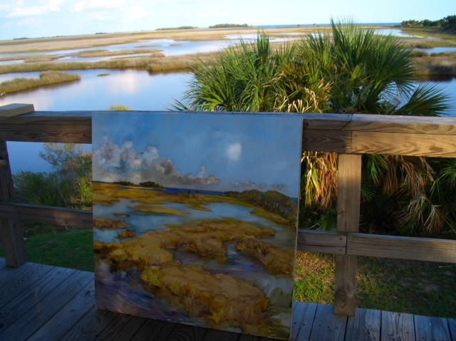 St. Mark's salt marsh