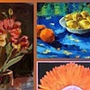 "Member Show: ""Orange and Blue, Celebrating Local Color"