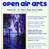 Open Air Arts 2011 - Schedule of Events