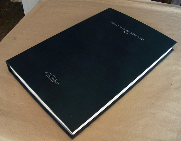 Oversized Presentation Book