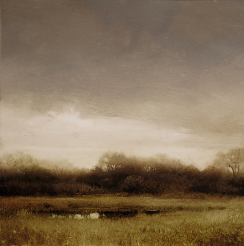 Early Spring on the Low Lands-(study)