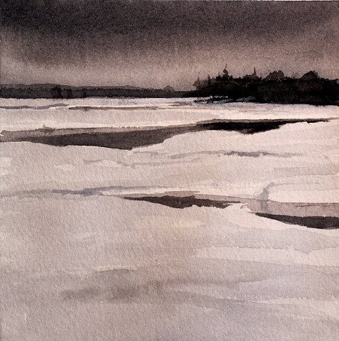 Winter on the Low Lands - Study