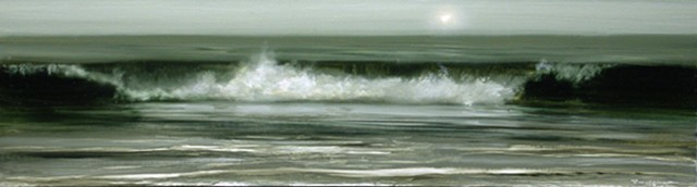 Breaking Wave -study
