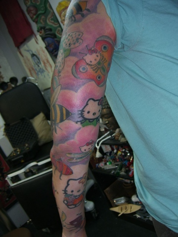 heloo kitty sleeve1