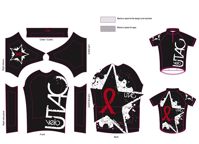 Utac velo cycling team KIT