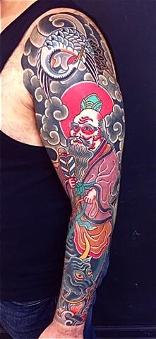 Lao Tzu full sleeve