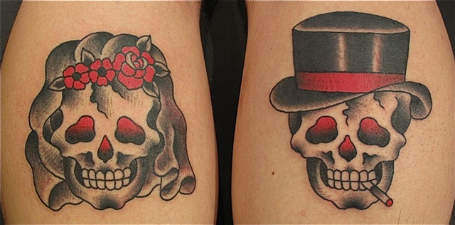 Bride & Gloom Skull