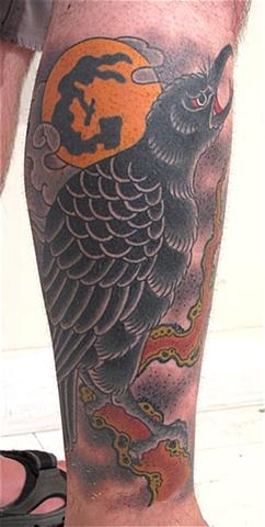 Crow & Moon