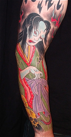 Ghost (oiwa) sleeve