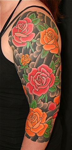 Rose 3/4 sleeve