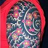 Cherry Blossom half sleeve