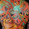 Dragon & Tiger Back Piece