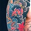 Tengu & Kitsune Full sleeve