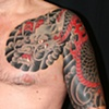 Dragon half sleeve