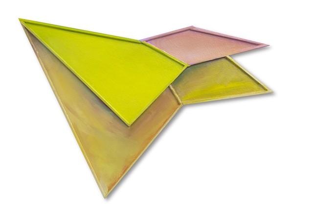 shape float space surface painting air sculptural