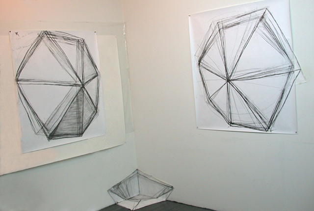 Ara Pacis II #6 (preparatory drawing)