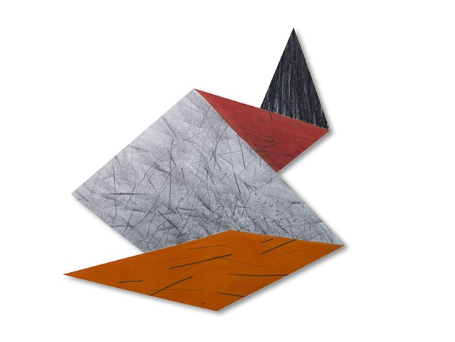 texture color charcoal drawing geometric painting space landscape