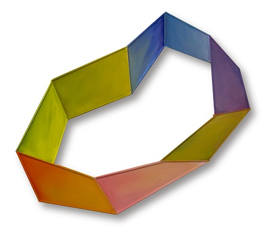 color space shape geometric sculpture painting flat