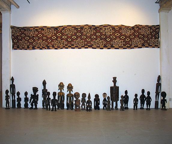 textile & sculpture installation