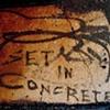 set in concrete