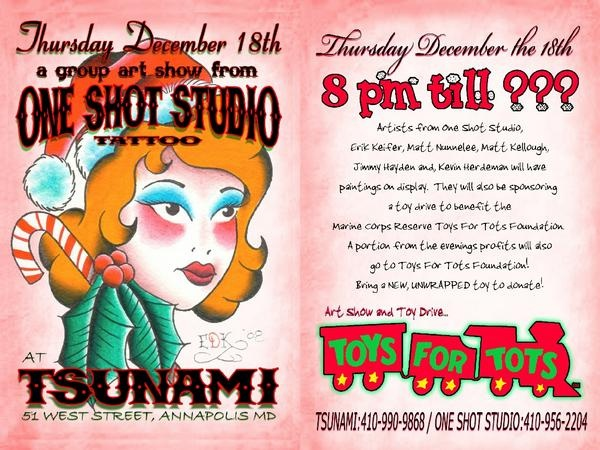 One Shot Studio Group Show!