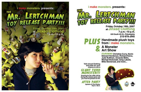 Mr. Lertchman Toy Release Party!