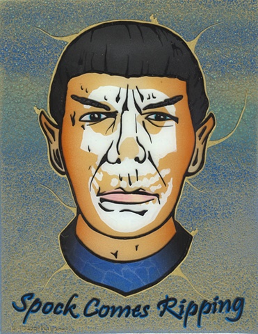 Spock Comes Ripping!