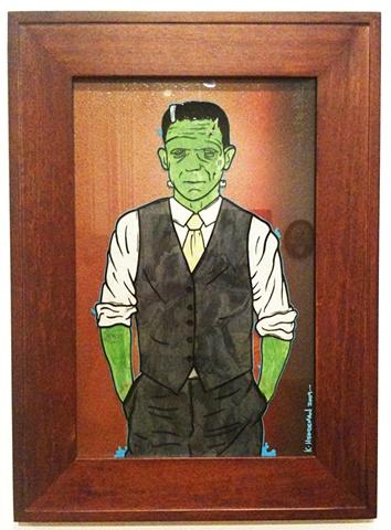 frankenstein suit and tie