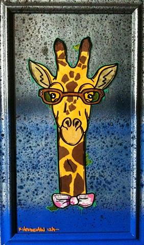 giraffe nerd