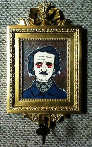 edgar allen poe coffin