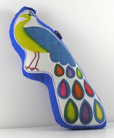 Large Peacock Pillow